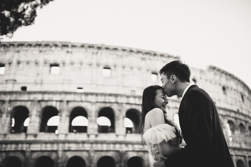 Rome Tourist Photo