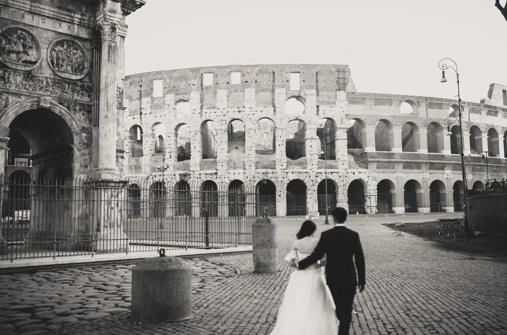 Beautiful Rome Photo Tour around Colosseum